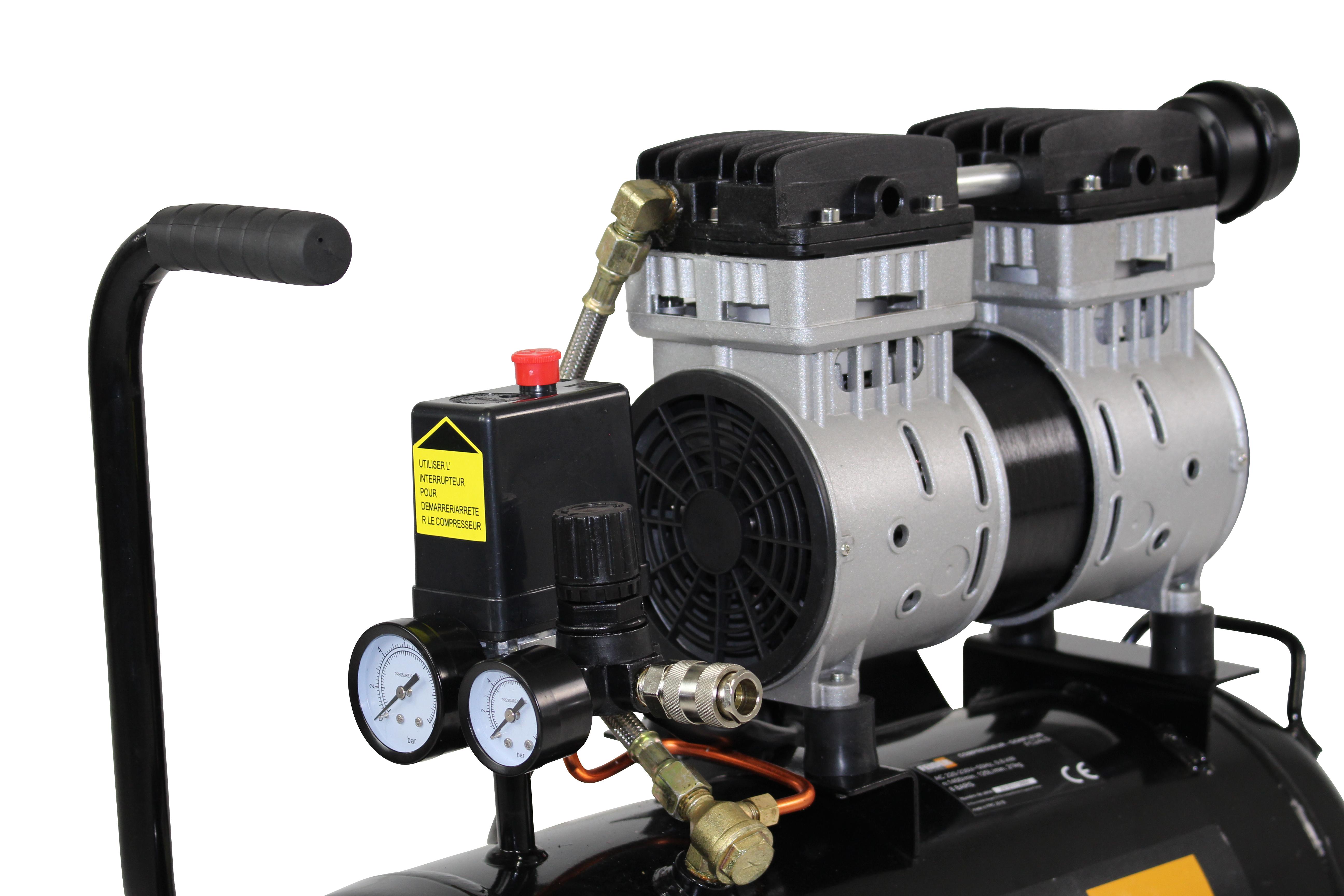 Compresseur 24 L 8 Bar 1 Hp 125 Lmin Fc24ls Swap Europecom