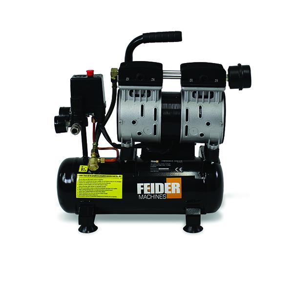 Compresseur 6 L 8 Bar 05 Hp 89 Lmin Fc6ls Swap Europecom