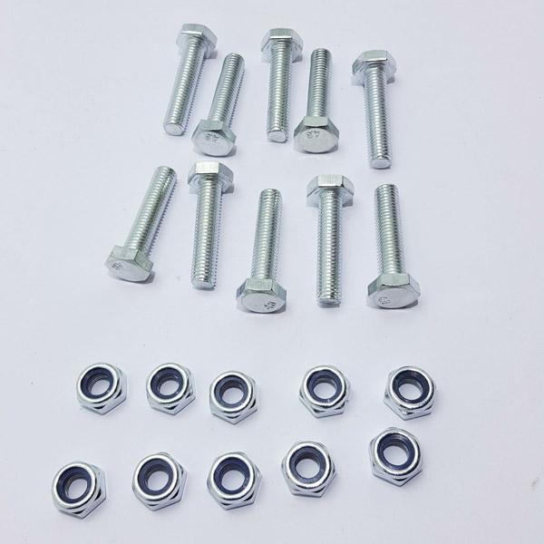 Screw fixing blades kit