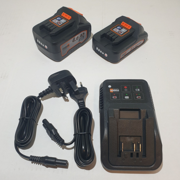 Pack chargeur + 2 batteries