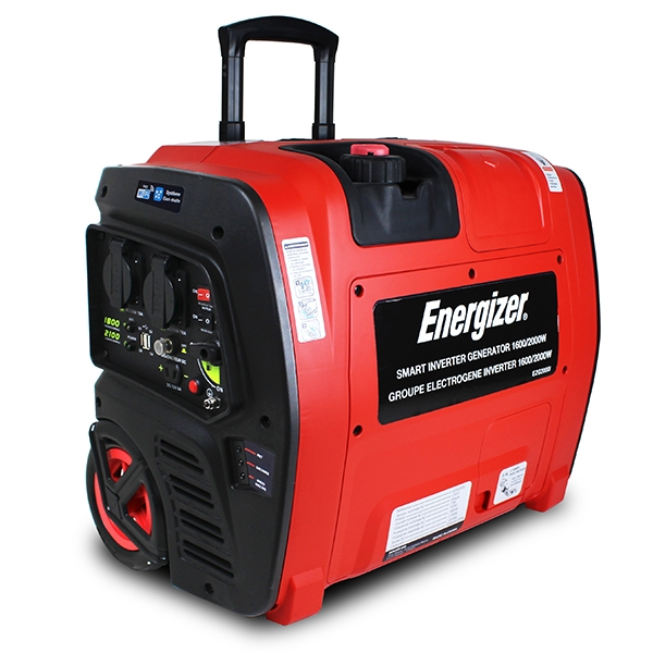 Groupe électrogène essence Inverter 2100 W 1800 W - démarrage électrique  - Transmission Wifi EZG2001I - SWAP-europe.com