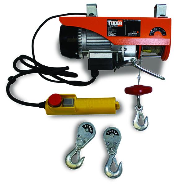 Palan électrique 125250 Kg F750pa 12 Swap Europecom