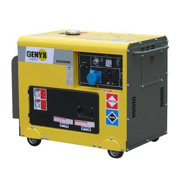 Diesel generator G5000DM-2 - SWAP-europe.com