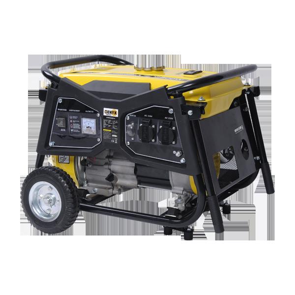 Groupe électrogène essence de chantier 4300 W 4000 W GPRO4000R-A - SWAP-europe.com