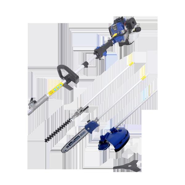 Petrol multi-tool 42.7 cm³ - 4 in 1 HCOMBI45ORG-1 - SWAP-europe.com