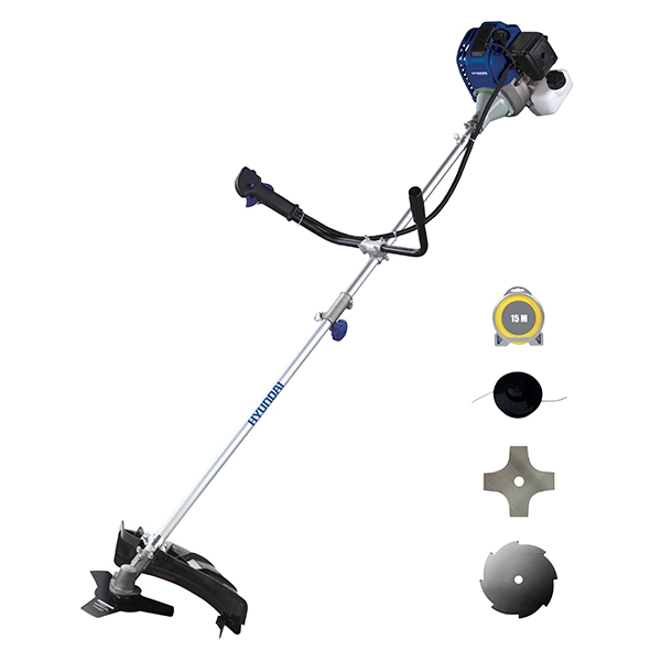 Petrol brushcutter 43 cm³ - Harness HDBT42FV-2 - SWAP-europe.com
