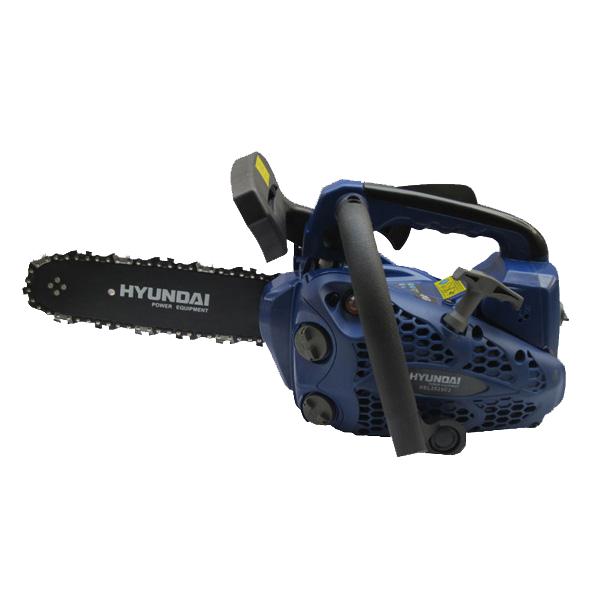 Elagueuse thermique 25 cm³ 25 cm - Guide et chaîne Hyundai - Deuxième chaîne gratuite HEL2525C2-2 - SWAP-europe.com