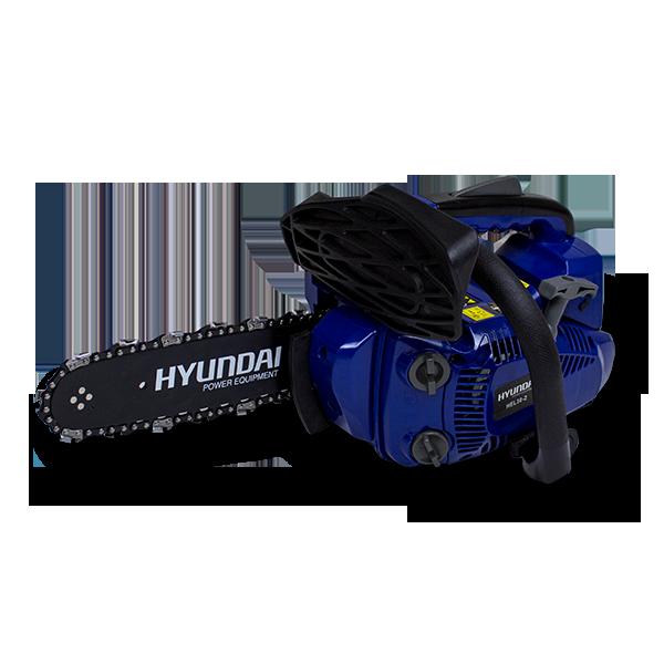 Elagueuse thermique 25.4 cm³ 25 cm - Guide et chaîne HYUNDAI - Deuxième chaîne gratuite HEL30-3 - SWAP-europe.com