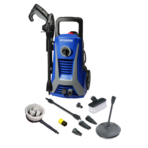 Electric Pressure Washer 1800 W 140 bar 480 L/h HNHP1800-AC140B - SWAP-europe.com