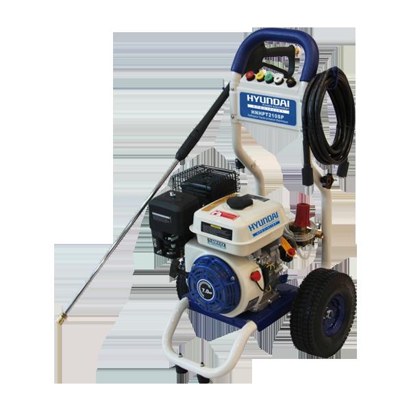 Petrol Pressure Washer 7 hp 210 bar 545 L/h HNHPT210SP - SWAP-europe.com