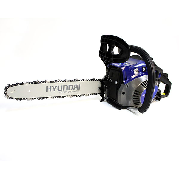 Petrol chainsaw 40 cm³ 40 cm - Guide and chain Hyundai - recoil start  HTR4 - SWAP-europe.com