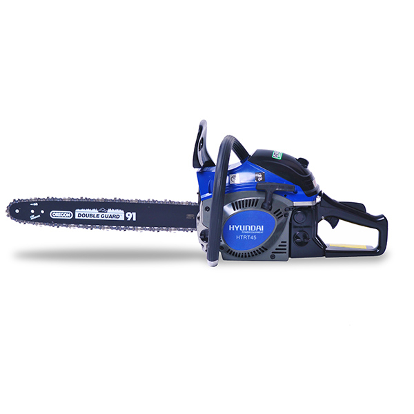 Petrol chainsaw 46 cm³ 40 cm - Guide and chain OREGON - recoil start  HTR44 - SWAP-europe.com