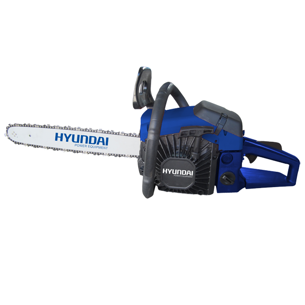 Petrol chainsaw 52 cm³ 50 cm - Guide and chain Hyundai 0.325 HTR55 - SWAP-europe.com