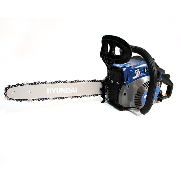 Petrol chainsaw 41 cm³ 40 cm - Guide and chain HYUNDAI - recoil start  HTRT4140-1 - SWAP-europe.com