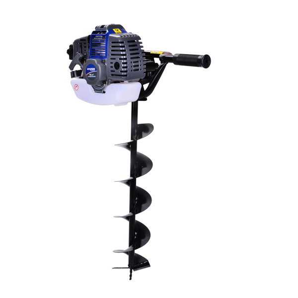 Petrol earth auger 52 cm³ 150 mm - 2-stroke motor HTT49 - SWAP-europe.com