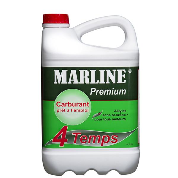 MARLINE Premium Carburant-Alkylat pour moteurs 4 Temps - 2 L