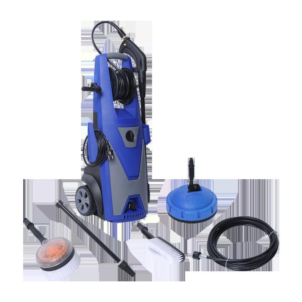 Electric Pressure Washer 2500 W 195 bar 552 L/h - induction motor NHP2519I - SWAP-europe.com