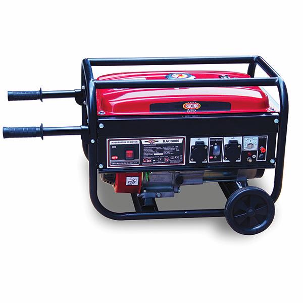 Groupe électrogène essence de chantier 3000 W 2700 W RAC3000-A - SWAP-europe.com