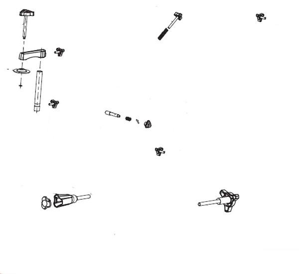 Kit molettes 16361018 - Pièce détachée SWAP-europe.com