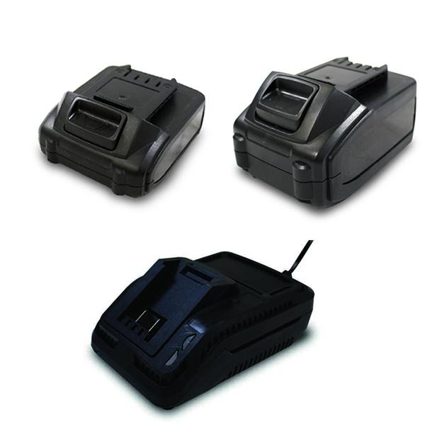 Pack chargeur + 2 batteries 20023001 - Spare part SWAP-europe.com