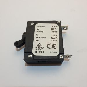 GPRO2800R Disjoncteur Thermique 11 A 07121331 Pièce détachée SWAP-europe.com