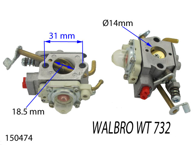 carburetor 150474 Spare part SWAP-europe.com