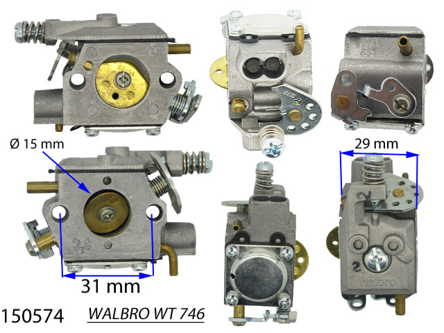 CARBURATEUR WALBRO WT 746 150574 Spare part SWAP-europe.com