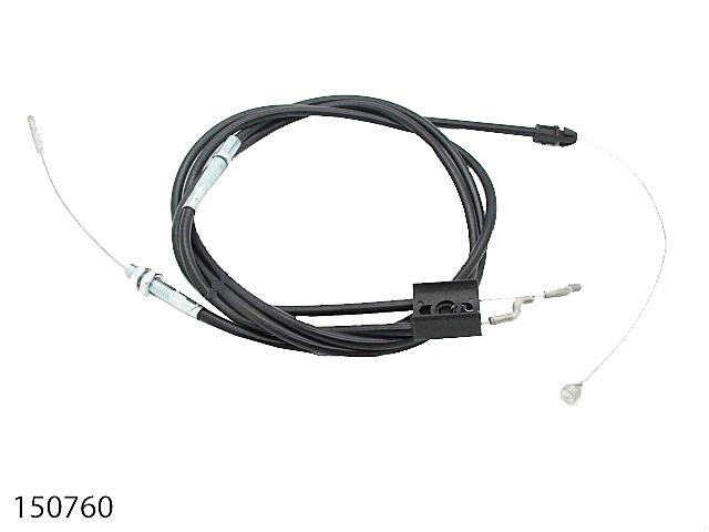 CABLE GAINE ARRET/TRACTION GAINE ARRET L940mm CABLE ARRET L1180mm GAINE TRACTION L1200mm CABLE TRACTION L1405mm 150760 Spare part SWAP-europe.com
