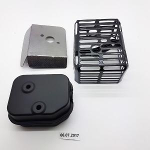 Kit pot d'échappement 15336040 Spare part SWAP-europe.com