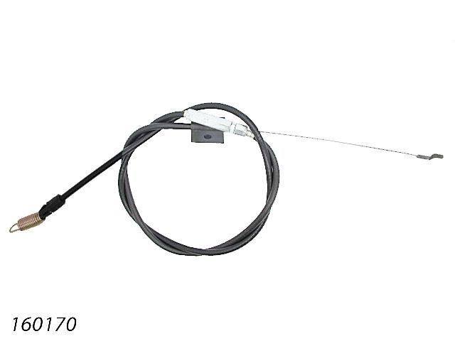 CABLE GAINE LONGUEUR GAINE 1010mm LONGUEUR CABLE 1280mm 160170 Pièce détachée SWAP-europe.com