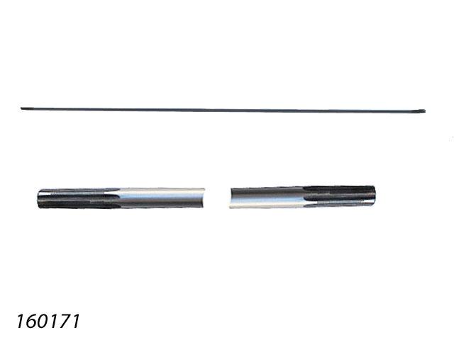 TIGE ENTRAINEMENT DEBROUSSAILLEUSE DIAMETRE 7mm LONGUEUR 740mm 7 DENTS 160171 Pièce détachée SWAP-europe.com