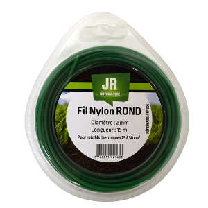 Fil nylon Rond 2 mm - 15 m 17263096 Spare part SWAP-europe.com