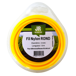 Fil Nylon Rond 3mm x 9m 17263100 Spare part SWAP-europe.com