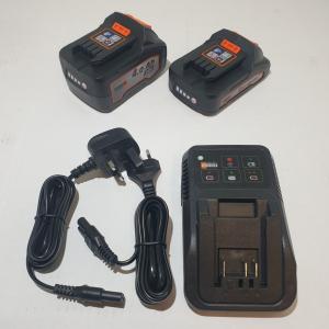 Pack chargeur + 2 batteries 20023001 Pièce détachée SWAP-europe.com