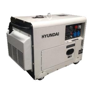Diesel generator 5500 W 6000 W - Single-phase DHY8000SE SWAP-europe.com