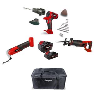 Tools pack 20 V 2 & 4 Ah EZPACK13 SWAP-europe.com