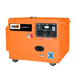 GROUPE ELECTROGENE DIESEL MONOPHASE 4500/5000 WATTS F5000DM-A SWAP-europe.com