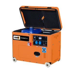 GROUPE ELECTROGENE DIESEL TRIPHASE 5600/6200 WATTS F6200DT-A SWAP-europe.com