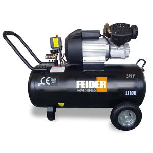Compressor 100 L 8 bar 3 hp 356 L/min FC100L SWAP-europe.com