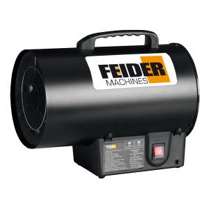 Gas heater 15000 W 51100 Btu 300 m³/h 150 m² FCD15KW SWAP-europe.com