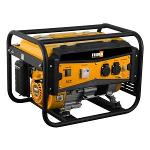 Groupe électrogène essence de chantier 3000 W 2700 W - Système AVR FG3000-A SWAP-europe.com