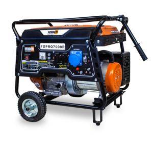 Groupe électrogène essence de chantier 6500 W 6000 W - Système AVR FGPRO7000R-A SWAP-europe.com
