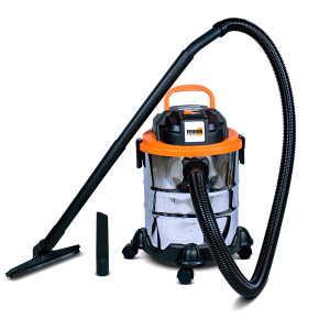 Wet and dry vacuum 1250 W 20 L - Inox tank FHAEP125020L SWAP-europe.com