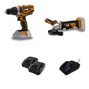 Pack d'outils 20 V 1.5 Ah FPVM20V2A SWAP-europe.com