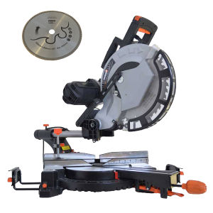 Workshop Miter saw 2000 W 305 mm - Double tilt FSO305 SWAP-europe.com