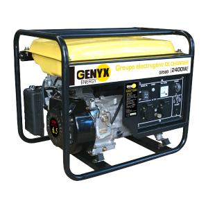 Groupe électrogène essence de chantier G2500 SWAP-europe.com