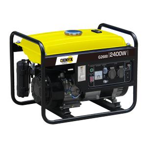 Groupe électrogène essence de chantier G2600 SWAP-europe.com