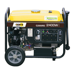 Open frame petrol generator G2600RE SWAP-europe.com