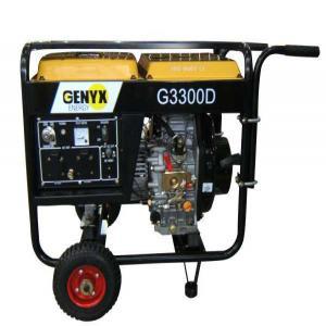 Diesel generator G3300D SWAP-europe.com