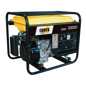Open frame petrol generator G3600 SWAP-europe.com